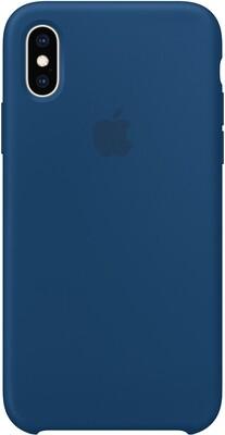 Чехол Apple iPhone XS Silicone Case (морской горизонт)