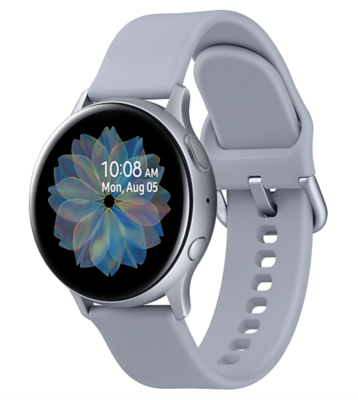 Часы Samsung Galaxy Watch Active2 алюминий 44 мм Cloud Silver (Арктика) RU/A
