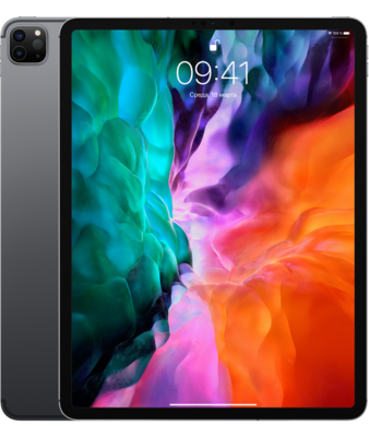 Планшет Apple iPad Pro 12.9 (2020) 512GB Wi-Fi + Cellular Space Gray (серый космос) MXF72RU/A