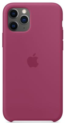 Силиконовый чехол для iPhone 11 Pro, цвет «сочный гранат»