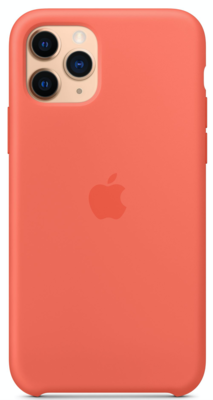Силиконовый чехол для iPhone 11 Pro, цвет «спелый клементин»