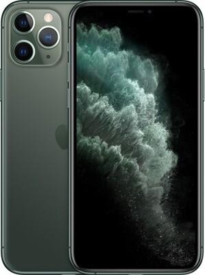 Смартфон Apple iPhone 11 Pro 512Gb Midnight Green (темно-зеленый) MWCG2RU/A РОСТЕСТ