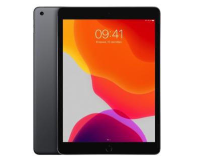 Планшет Apple iPad (2019) 128Gb Wi-Fi Space Gray (серый космос) MW772RU/A РОСТЕСТ