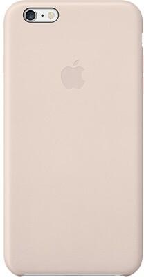 Apple для iPhone 6 Plus кожаный (бледно-розовый)