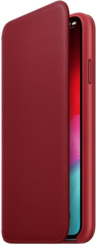 Apple Folio для iPhone XS (красный)