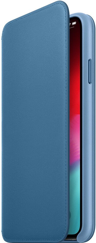 Apple Folio для iPhone XS (лазурная волна)