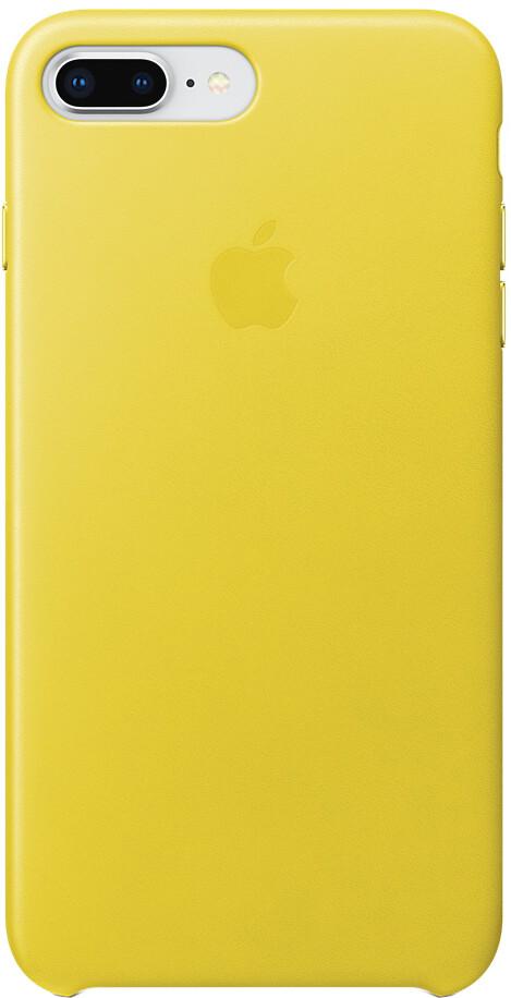 Apple Leather Case для iPhone 8/7 (желтая весна)