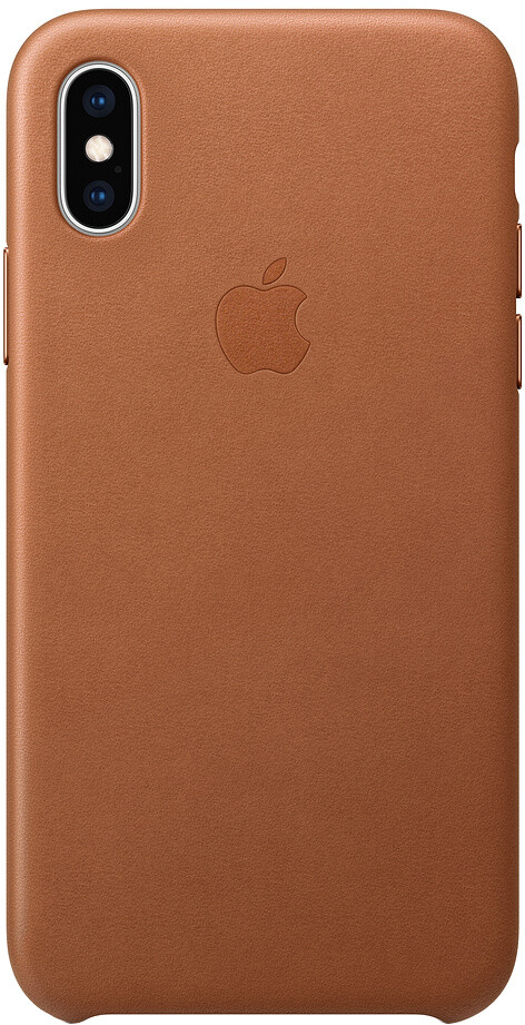 Apple Leather для iPhone XS Max (золотисто-коричневый)