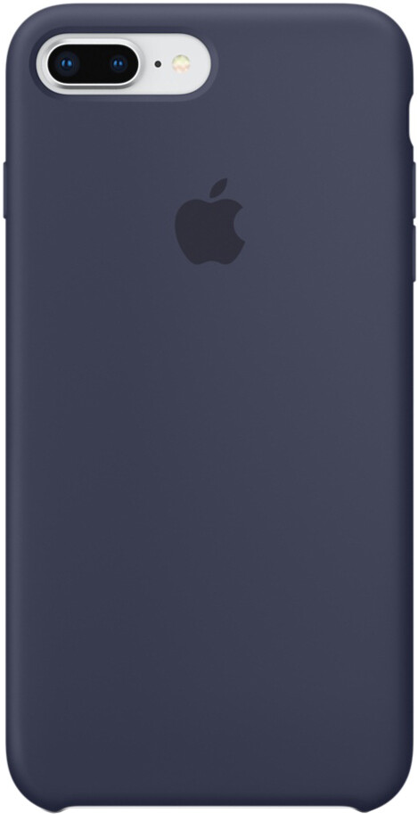 Apple Silicone Case для iPhone 8 Plus/7 Plus (темно-синий)