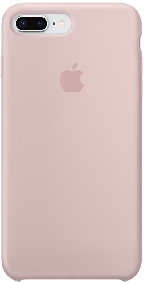 Apple Silicone Case для iPhone 8 Plus/7 Plus (розовый песок)