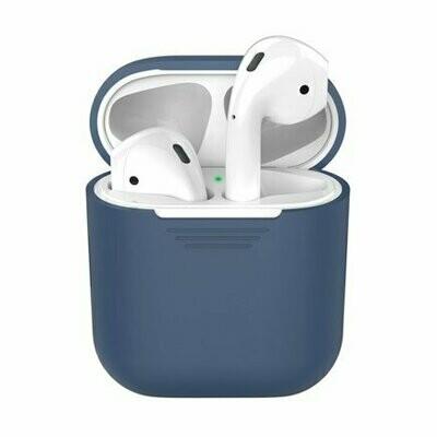 Силиконовый чехол Deppa для AirPods Blue (синий)