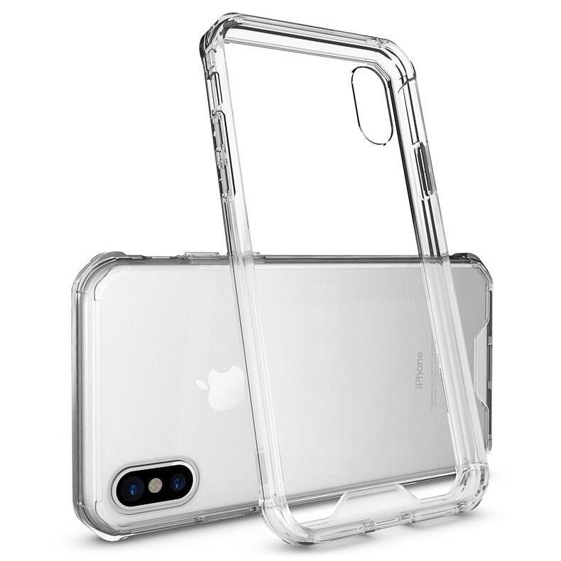 Прозрачный силиконовый чехол для Apple iPhone X / Xs / 11 pro