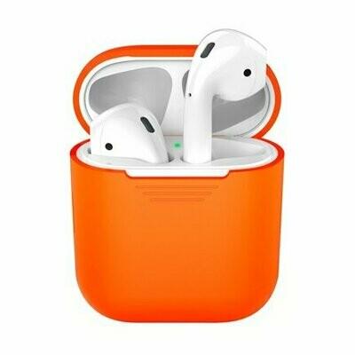 Силиконовый чехол Deppa для AirPods Orange (оранжевый)