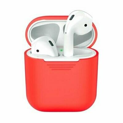 Силиконовый чехол Deppa для AirPods Red (красный)