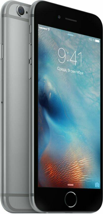 Смартфон Apple iPhone 6s 32GB Space Gray (серый космос) A1688