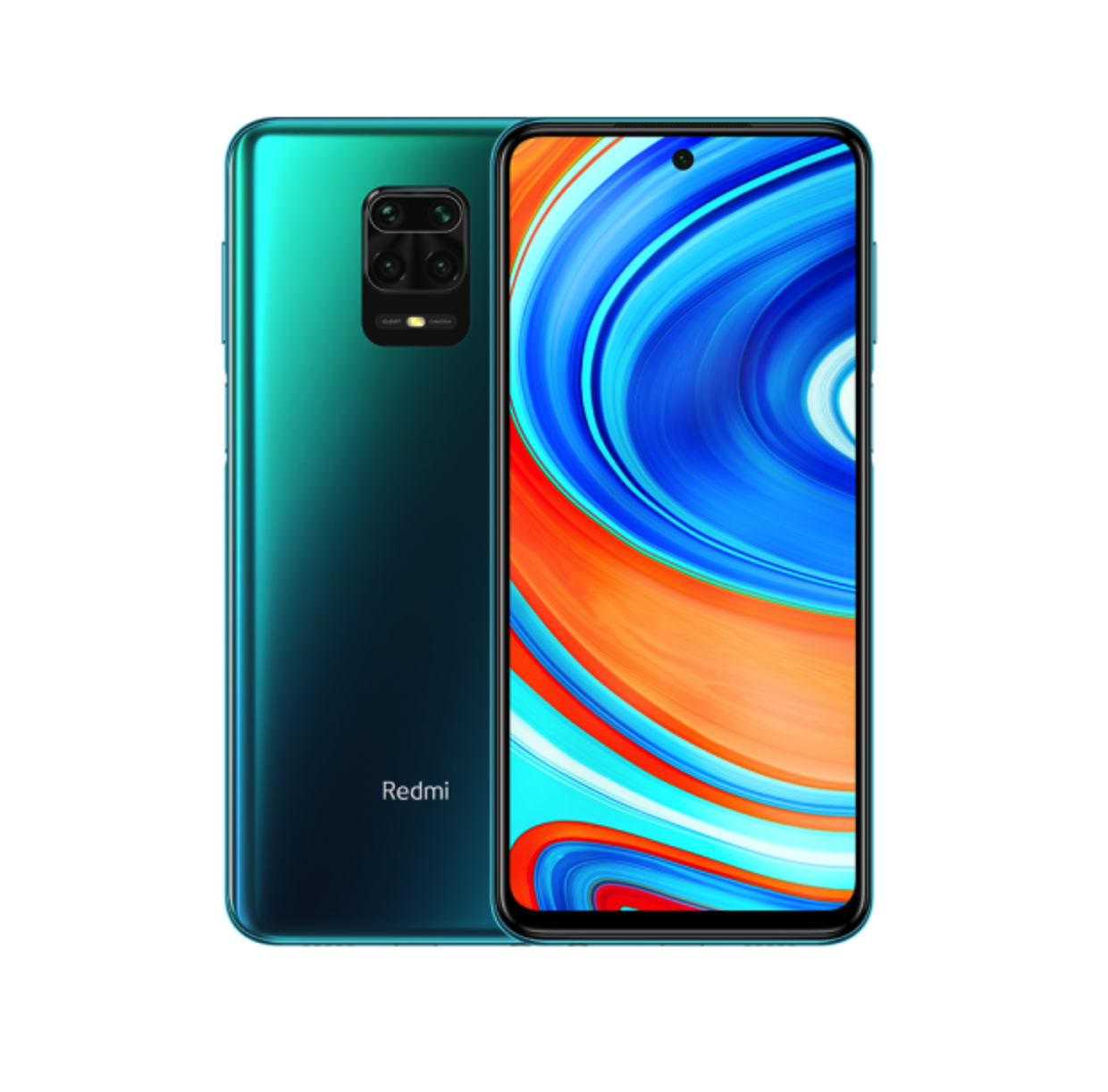 Смартфон Xiaomi Redmi Note 9S 6/128GB Aurora Blue (синий)