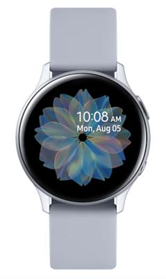 Часы Samsung Galaxy Watch Active2 алюминий 40 мм Cloud Silver (Арктика) RU/A