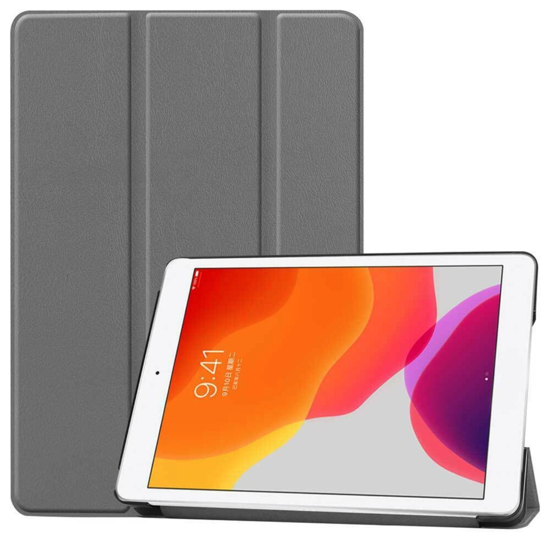 Чехол-книжка для iPad 9.7/10.2 (Серый)