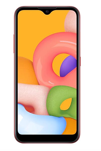 Телефон Samsung Galaxy A01 2/16Gb Черный