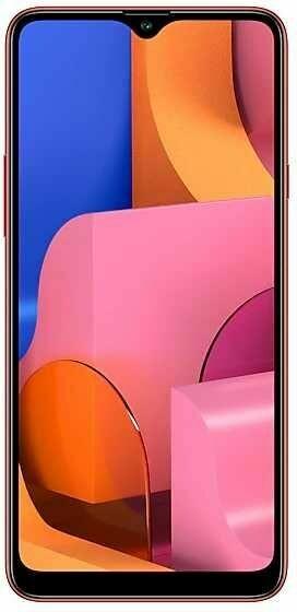 Смартфон Samsung Galaxy A20s 3/32GB Красный\RED