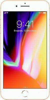 Смартфон Apple iPhone 8 Plus 128GB Gold MX262RU/A Ростест