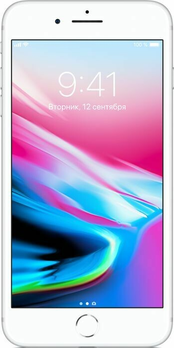 Смартфон Apple iPhone 8 Plus 128GB Silver MX252RU/A Ростест