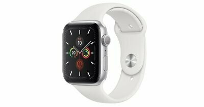 Умные часы Apple Watch SE GPS 44mm Aluminum Case with Sport Band White