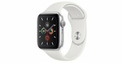 Умные часы Apple Watch SE GPS 44mm Aluminum Case with Sport Band White