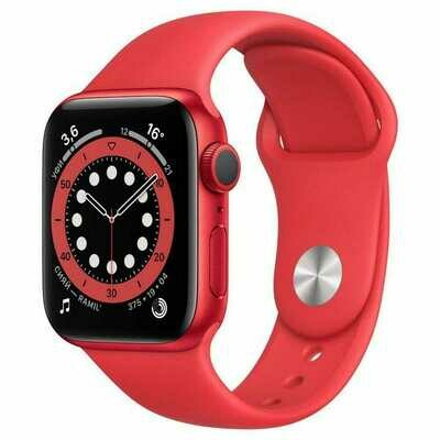 Apple Watch Series 6 GPS 40mm Aluminum Case with Sport Band Red