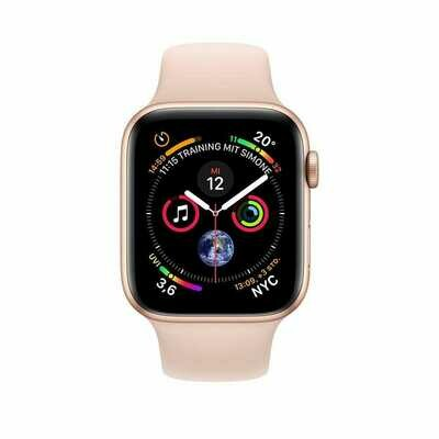 Apple Watch Series 6 GPS 44mm Aluminum Case with Sport Band Gold Pink