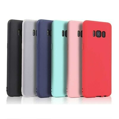 Чехол  на Samsung S8 - красный