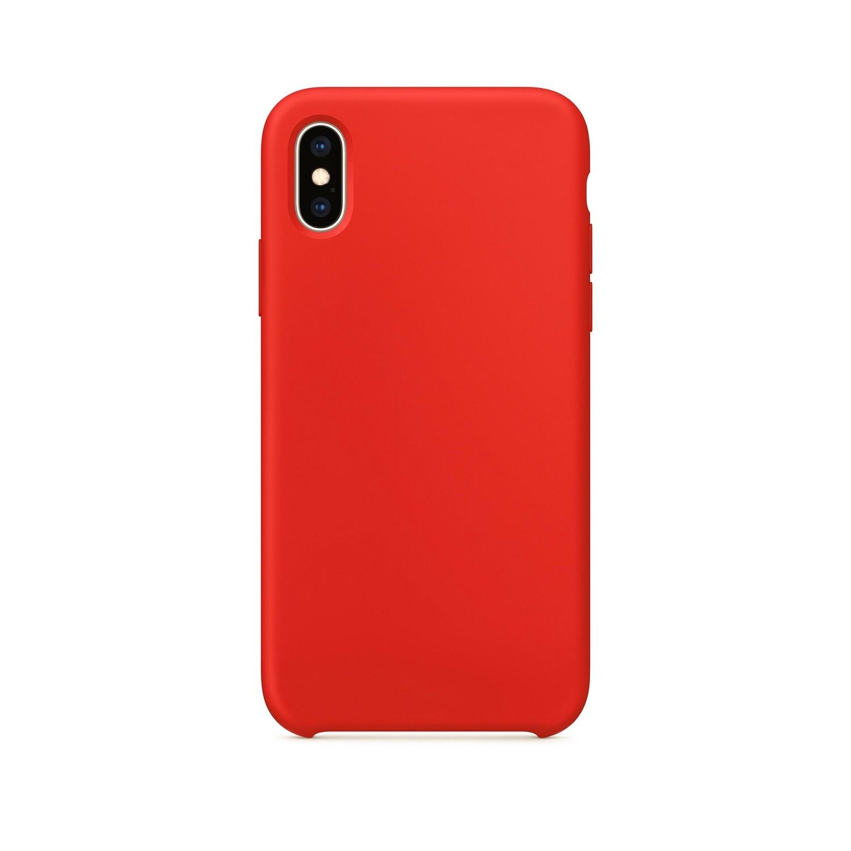 Цветной чехол на Xs - красный