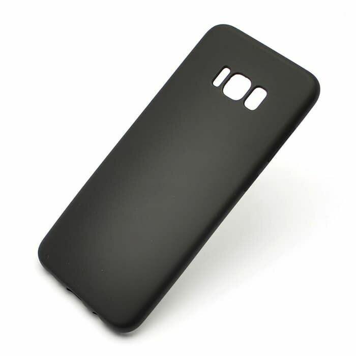 Чехол  на S8+ черный