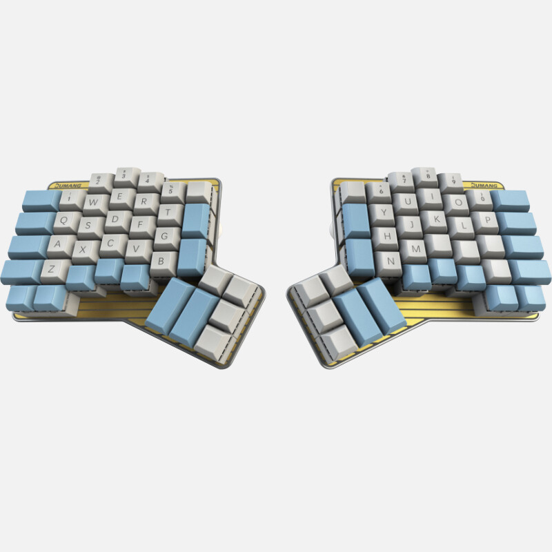 DUMANG DK6 Ergo Keyboard (Cherry KeySwitch)