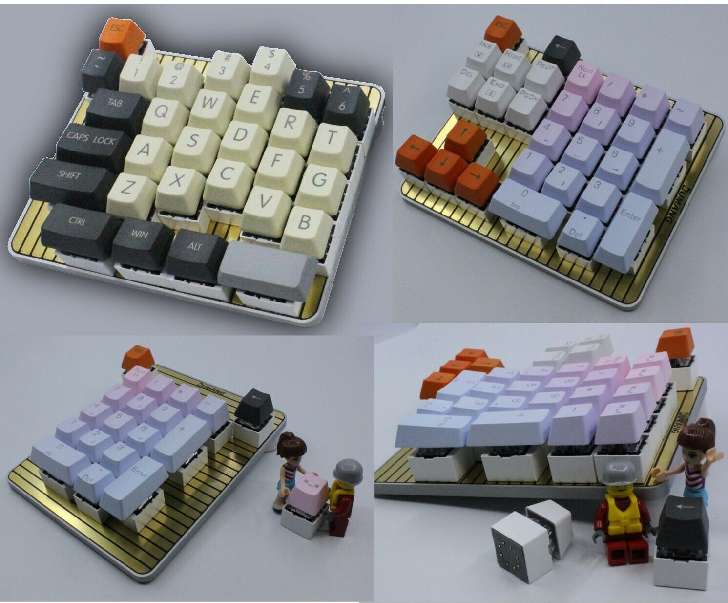 DUMANG DK6 mini Keyboard (Cherry KeySwitch)