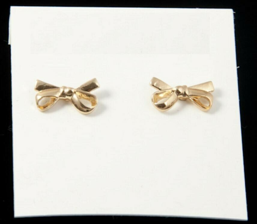 Bow Tie Ear Studs