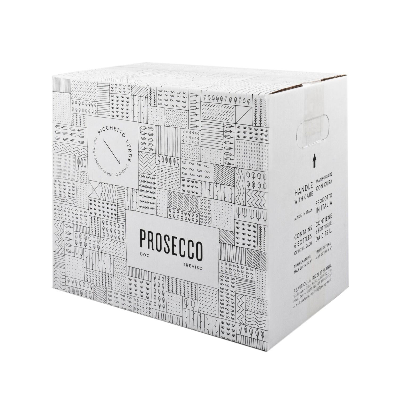 Prosecco DOC Brut Millesimato - 6 bottiglie