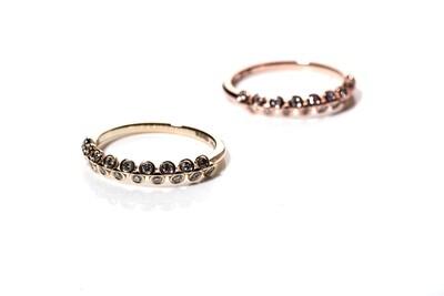 Naamah Half-Eternity Diamond Ring