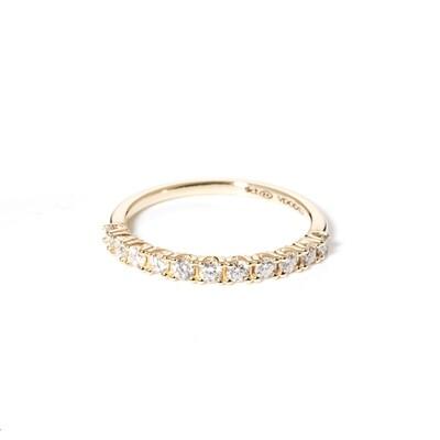 Half-Eternity Diamond Ring | 2mm