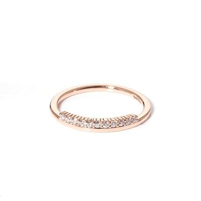 Fringe Diamond Ring