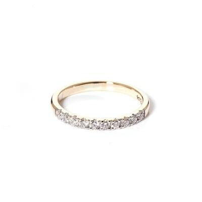Kroon Moissanite Ring   2mm