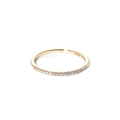 Kroon Diamond Ring | 1mm
