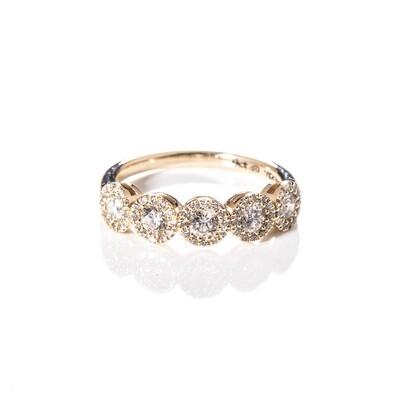 Nehar Diamond Ring - 3mm