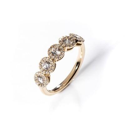 Nehar Moissanite Ring - 2.5mm