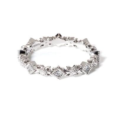 Carree Diamond Ring