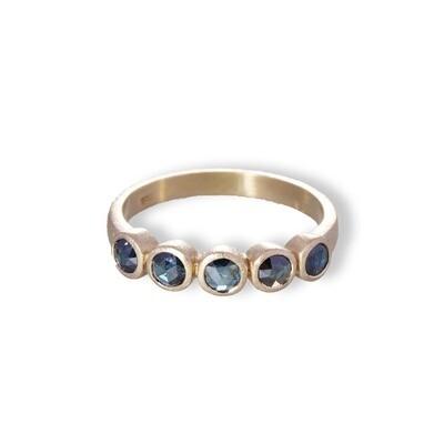 Nevele Blue Diamond Ring