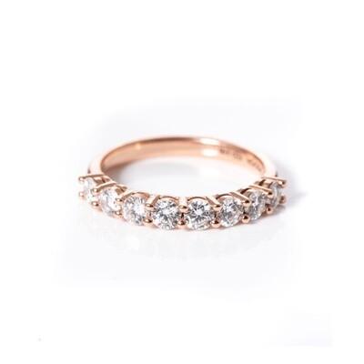 Half-Eternity Diamond Ring | 3mm