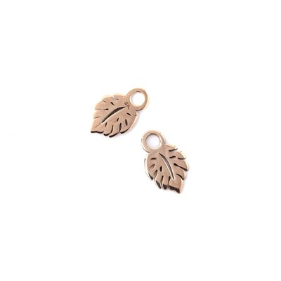 Rose Gold Plated Leaf Accessory