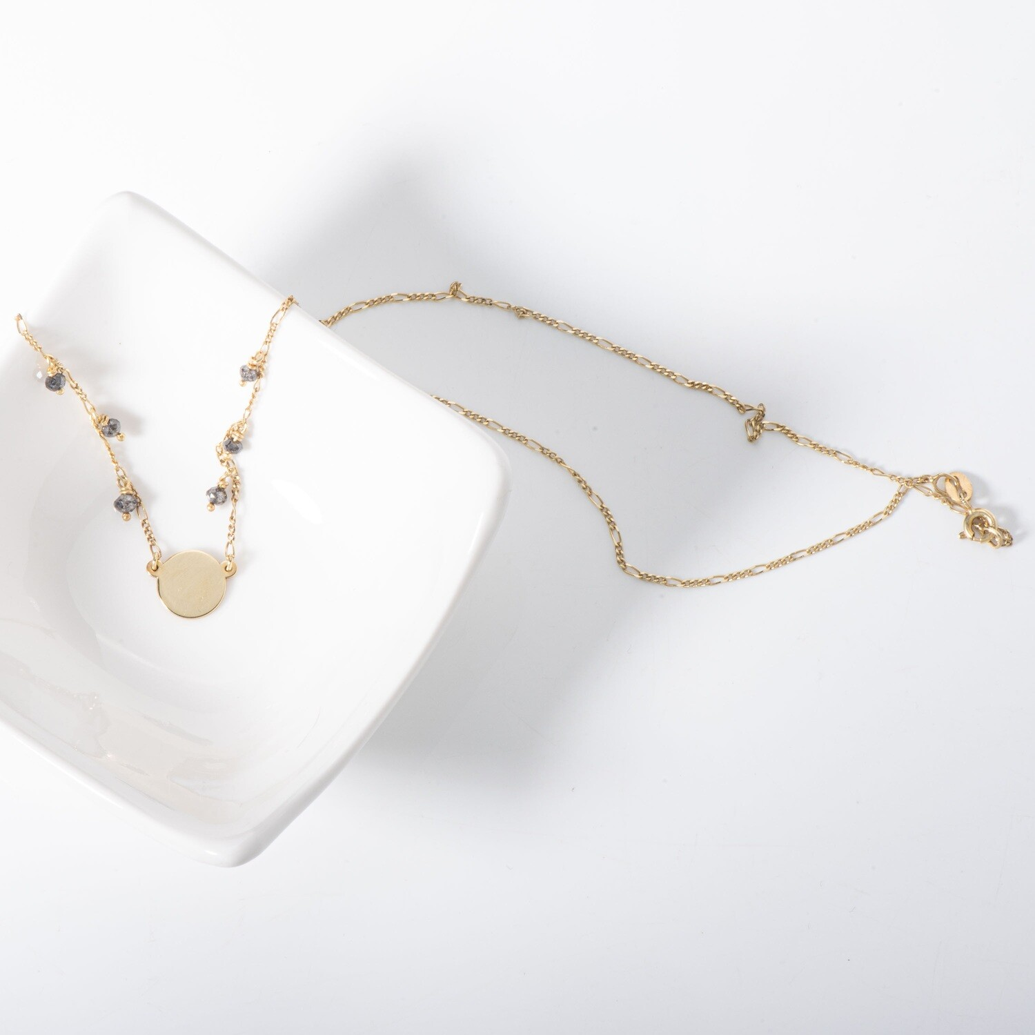 Agape - Solid Gold Necklace