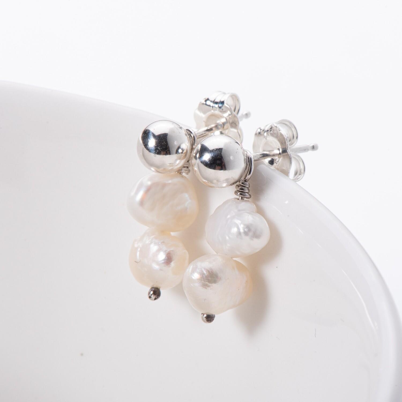 Double Baroque Pearl Accessory